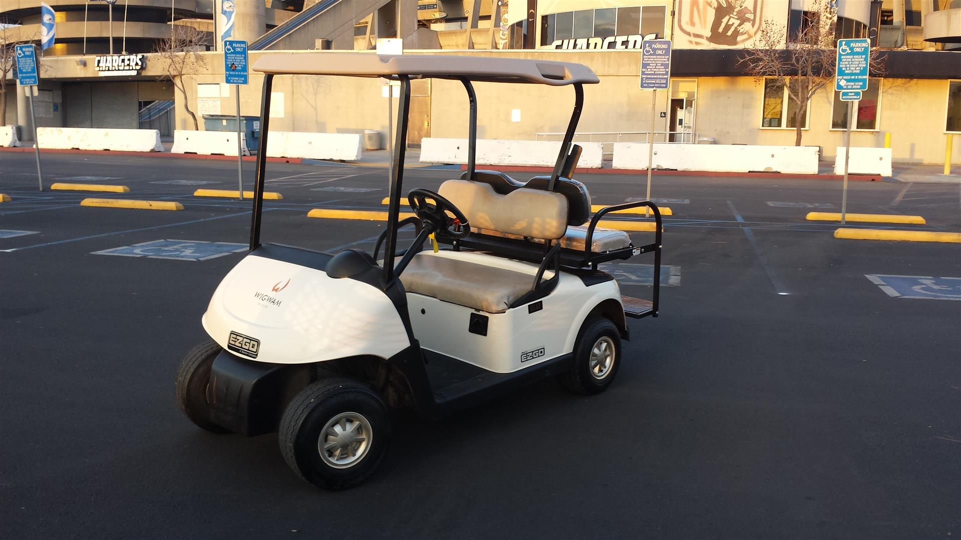 EzGo RXV Golf Cart Rentals in Orange County, CA