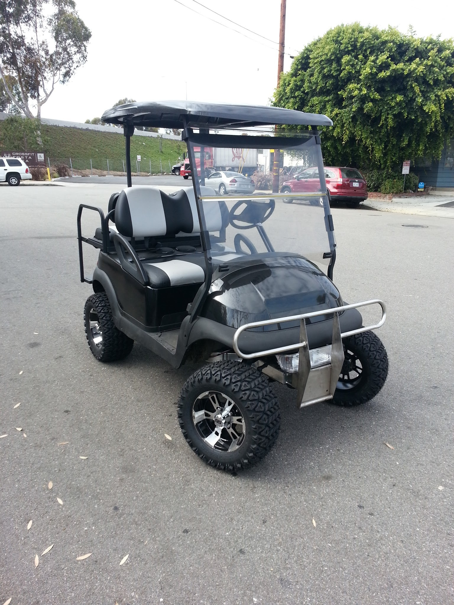 Custom Club Car Golf Cart Rental