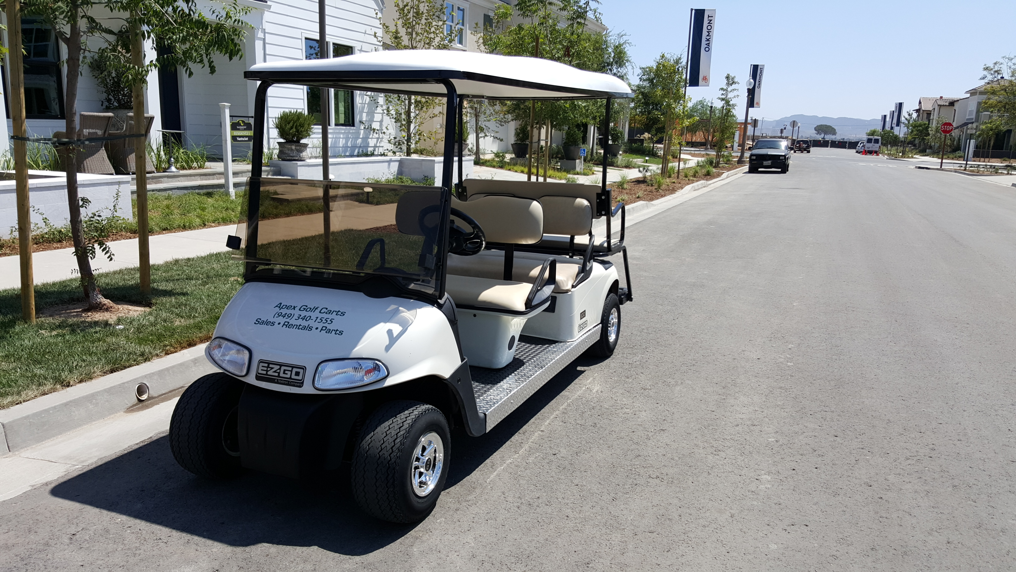 6 Passenger Golf Cart Rentals in Orange County, CA