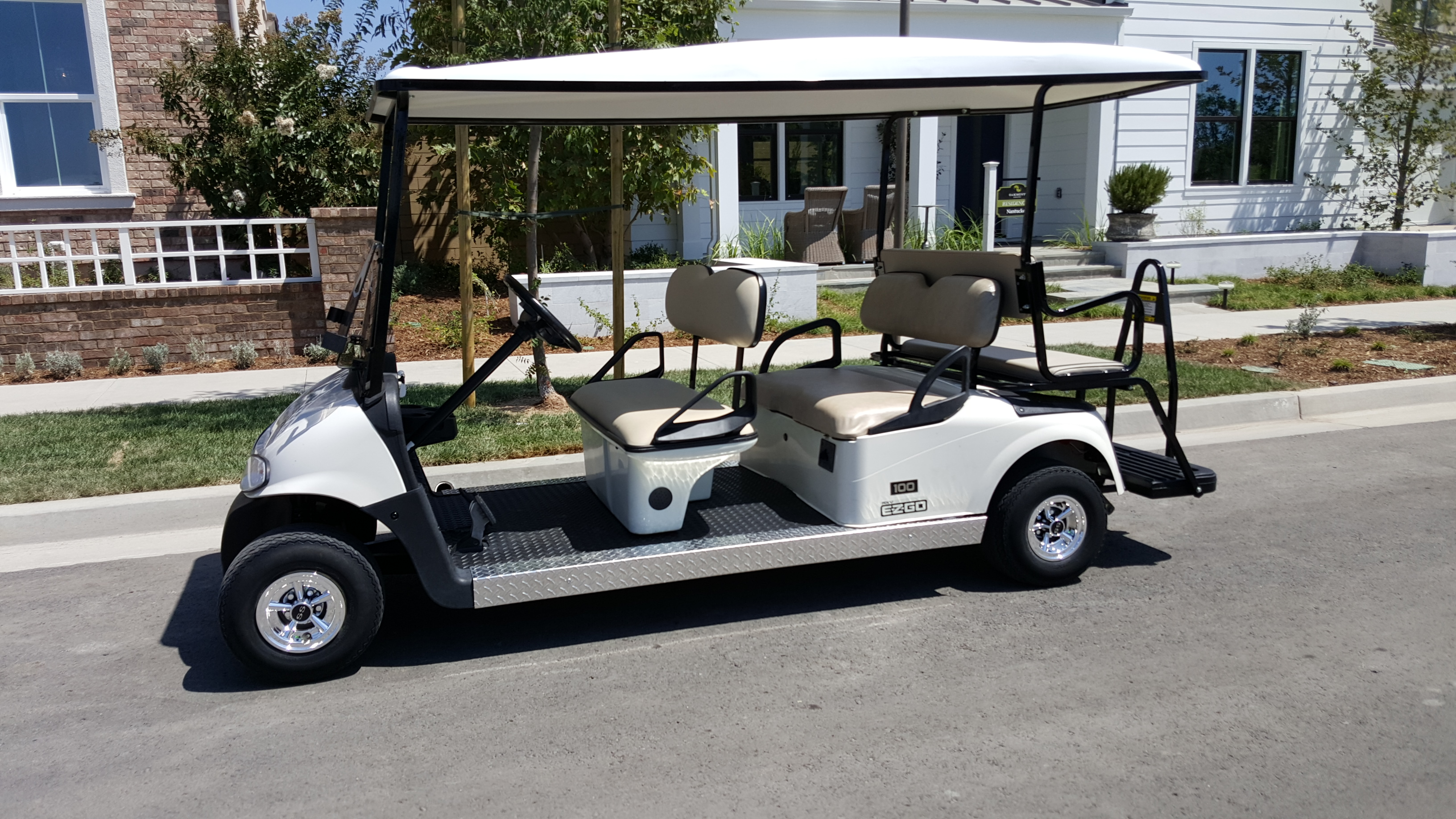 6 Passenger Golf Cart Rental