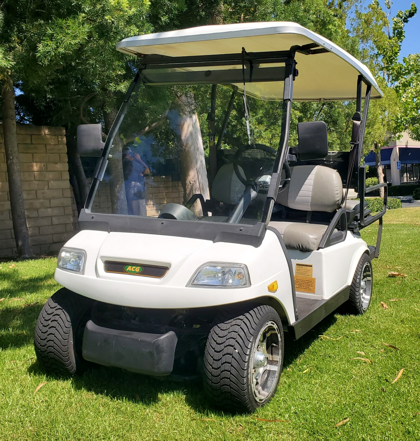 2000 ACG 48V Electric 4 Passenger Golf Cart Street Legal