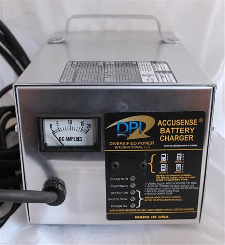 Dpi 36v 18a Accusense Intelligent Golf Cart Battery