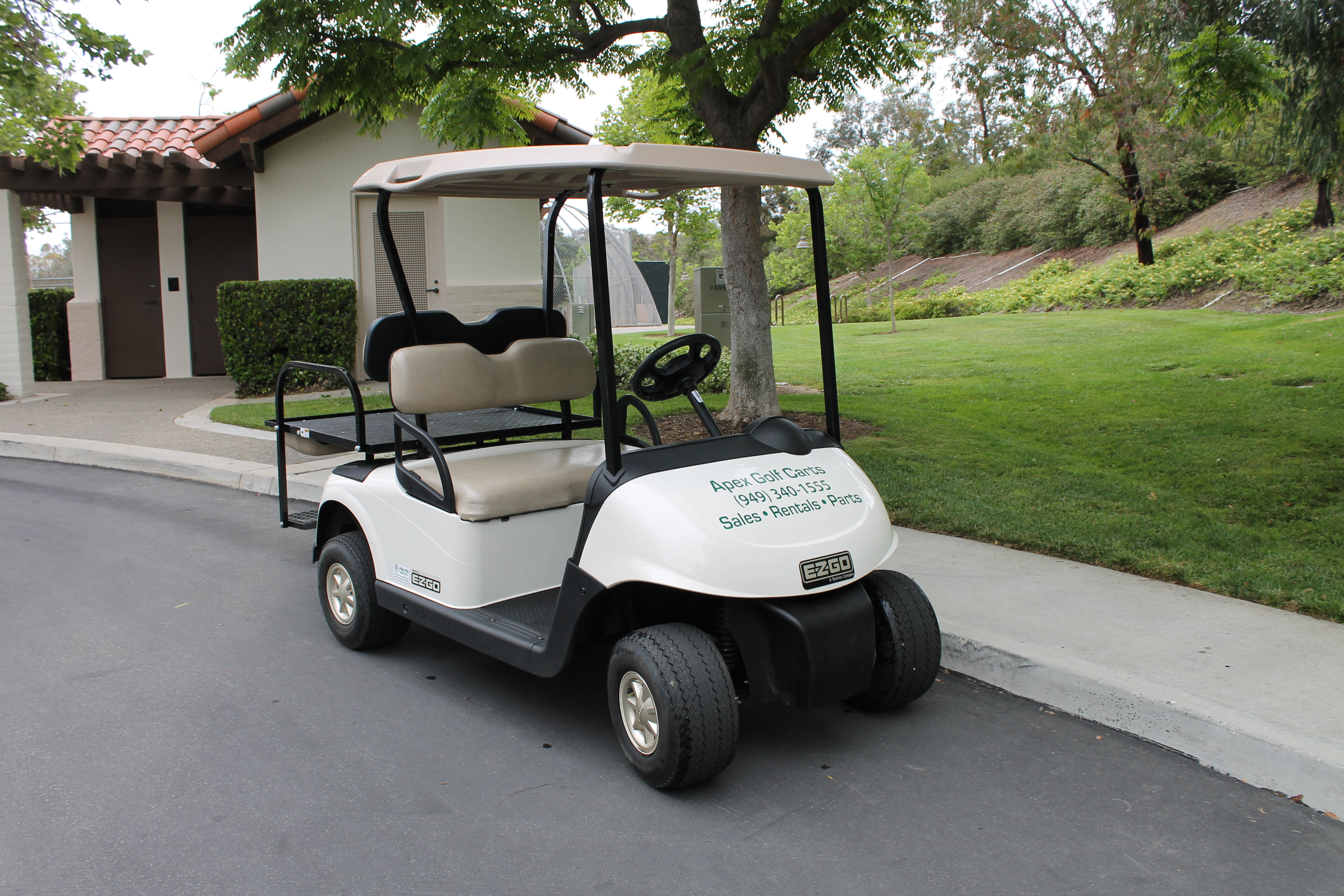 EzGo RXV Golf Cart Rental
