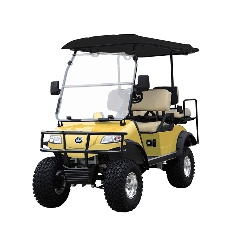 Evolution Golf Cart Forester Yellow