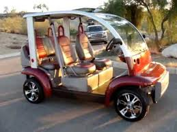 Ford Think Golf Cart Rental