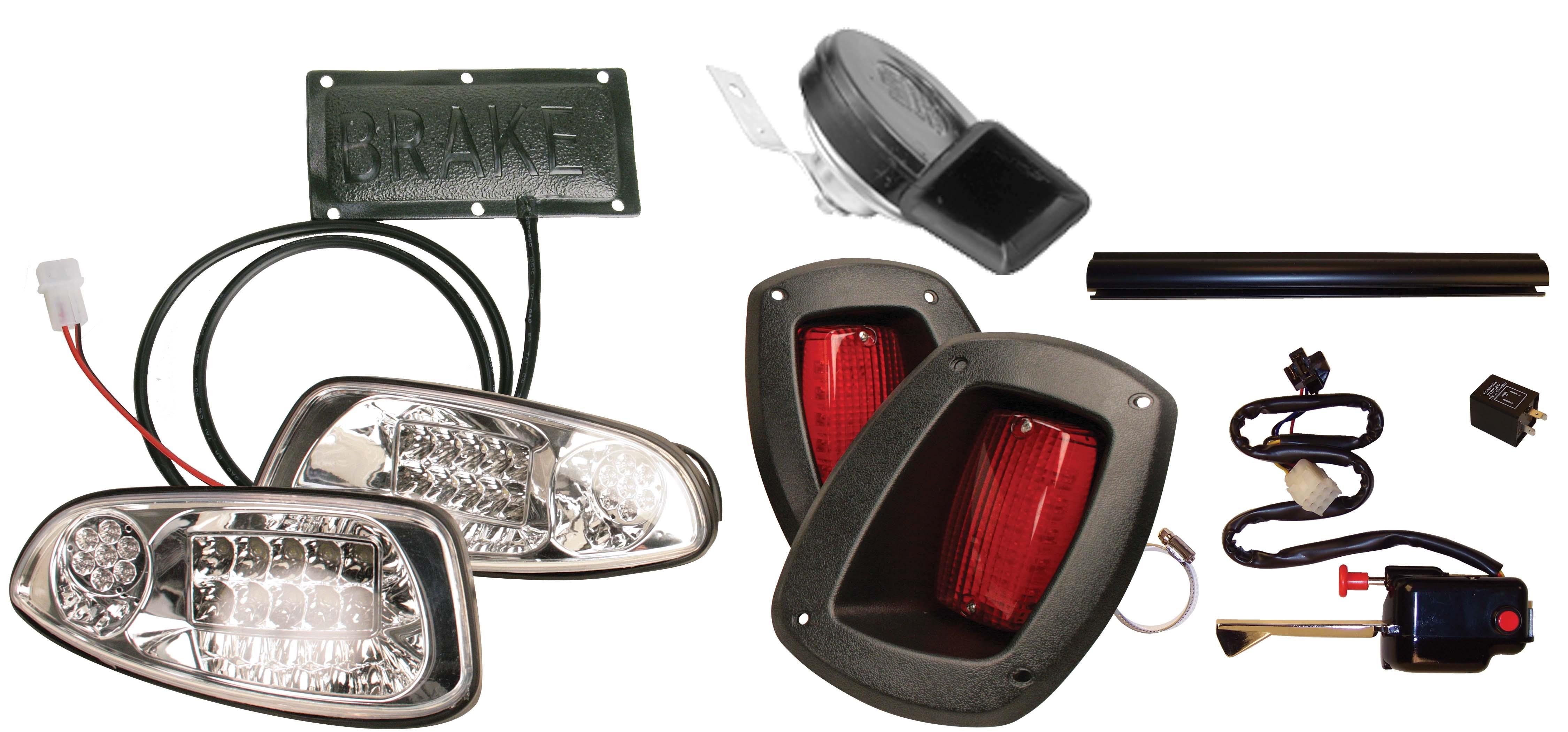 LIGHT KIT, LED; DELUXE EZGO RXV on