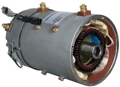 Motor Ge Sepex 72 Volt 5 Hp 2002 Up Gem