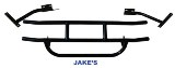 Jake'S Frt Brush Guard, (Black) E-Z-Go G&E 1994-Up Txt