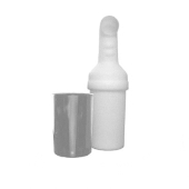 (UTD) SAND & SEED BOTTLE CHROME, E-Z-GO RXV
