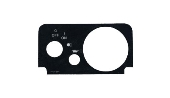Console plate for fuel & oil light for TXT fleet 2010