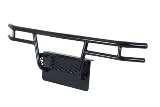 Brush Guard, Front For Yamaha Drive, Black