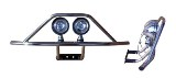Outlaw Light Bar For Ez-Go Long Travel Only-Stainless
