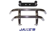 Front Bumper, For Ez-Go Long Travel Only Stainless