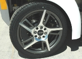 16 WHEEL AND TIRE PACKAGE 5 SPOKE - SET OF 4