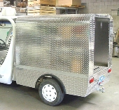 GEM SERVICE BOX W/REAR DOOR