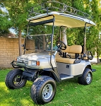 2002 EzGo ST Sport Electric 4 Passenger 48V Golf Cart