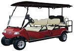 2019 RED Evolution Carrier 6 AC Electric 6 Passenger Golf Cart - Street Legal Option Available