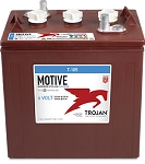 Trojan T-105 Motive Deep Cycle Flooded Battery (T105 Plus T2 Replacement)