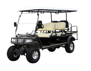 2017 Evolution Golf Carts - Forester 6 Passenger Electric 48V AC System Street Legal Golf Cart