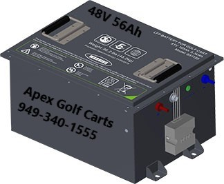 48 Volt Golf Cart Deep Cycle Lithium Battery Pack 56Ah