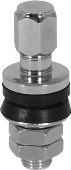 Valve Stem With Cap,Chrome
