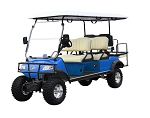 2020 Evolution Golf Carts - Forester 6 Passenger Electric 48V AC System Street Legal Golf Cart